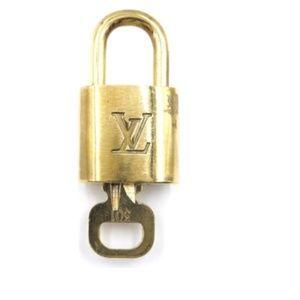 Gold Lock Keepall Speedy Alma #301 Bag